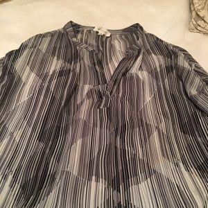 Vince Camino sheer blouse Size XS